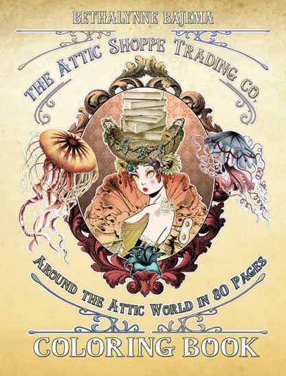 The Attic Shoppe Trading Co - Around the Attic in 80 Pages