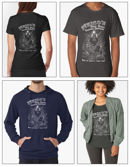 Nemo's Deep Ocean Trading Company Design at RedBubble