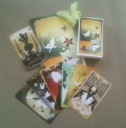 The Butterfly Circus Lenormand by Bethalynne Bajema