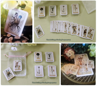 The Isidore Tarot by Bethalynne Bajema - The Doll Size Edition
