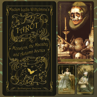 Madam Lydia Wilhelmina's Tarot of Monsters, the Macabre and Autumn Scenes