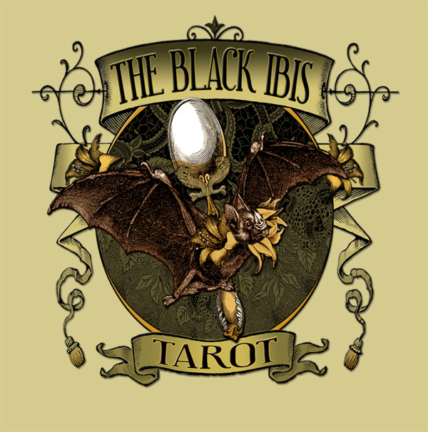The Attic Shoppe Trading Company Black Ibis Tarot Tee Shirt Design at Threadless.com