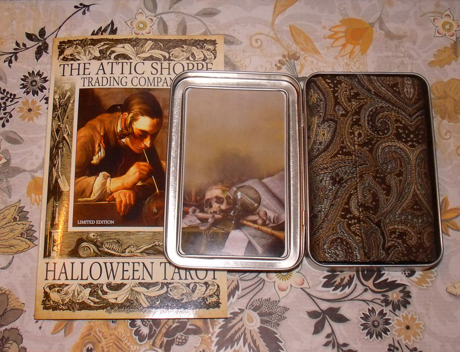 The Halloween Tarot Limited Edition by Bethalynne Bajema