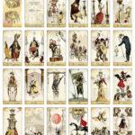 The Isidore Tarot Major Arcana fro the Attic Shoppe Trading Company