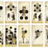 The Isidore Tarot – Minor Arcana – Coins – The Attic Shoppe