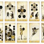The Isidore Tarot – Minor Arcana – Coins – The Attic Shoppe