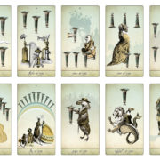 The Isidore Tarot – The Minor Arcana Cups – The Attic Shoppe