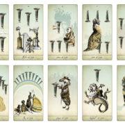 The Isidore Tarot – The Minor Arcana Cups – The Attic Shoppe