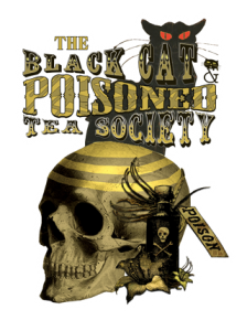 The Black Cat & Poisoned Tea Society by Bethalynne Bajema
