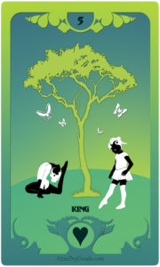 The Butterfly Circus Lenormand Deck - Tree - by Bethalynne Bajema