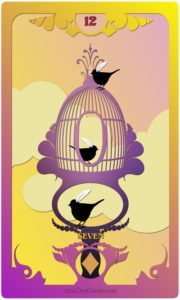 The Butterfly Circus Lenormand Deck - Birds - by Bethalynne Bajema
