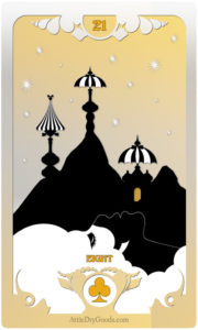 The Butterfly Circus Lenormand Deck - Mountain - by Bethalynne Bajema