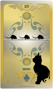 The Butterfly Circus Lenormand Deck - Mice - by Bethalynne Bajema