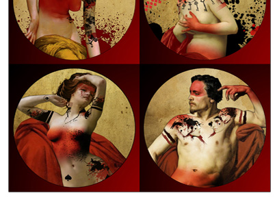 The Blood and Ink Lenormand Deck