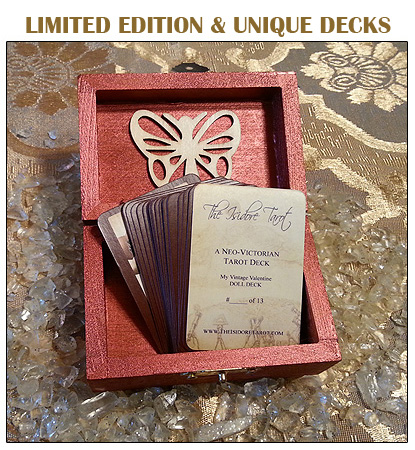 The Attic Shoppe Trading Co Limited Edition and Unique Decks