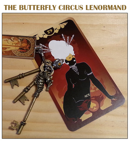 Purchase the Butterfly Circus Lenormand by Bethalynne Bajema