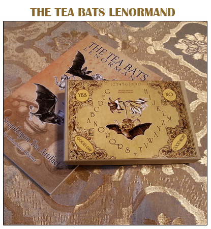 The Tea Bats Lenormand by Bethalynne Bajema - The Attic Shoppe Trading Company