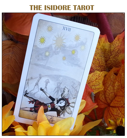 The Isidore Tarot Deck with full packaging from the Attic Shoppe Trading Company