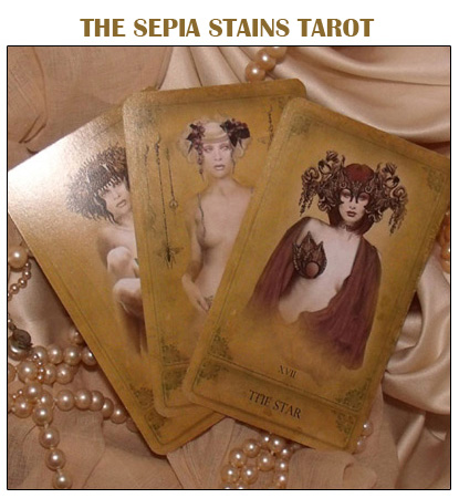The Sepia Stains Tarot by Bethalynne Bajema - The Attic Shoppe Trading Company