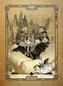 The Attic Shoppe - The Tea Bats Lenormand First Edition Last Chance Sale