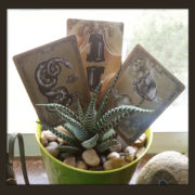 The Tea Bats Lenormand Deck from The Attic Shoppe