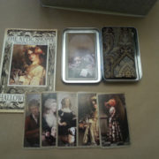 The Attic Shoppe Halloween Tarot Deck Bordered Version