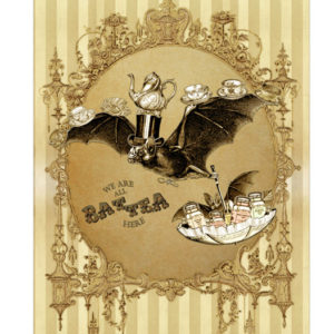 Mad Hatter Tea Bat Lenormand Tarot Deck