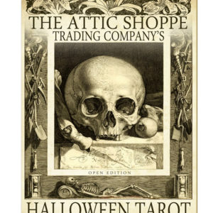 The Attic Shoppe Halloween Tarot by Bethalynne Bajema
