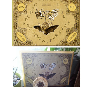 The Lily Bat Spirit Board design by the Attic Shoppe Trading Company