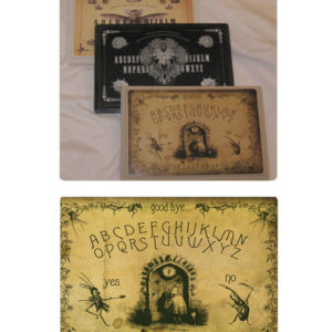 The J.J. Grandville Collage Spirit Board from the Attic Shoppe Trading Co