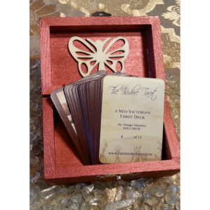 The Attic Shoppe Trading Co. My Vintage Valentine Isidore Mini Tarot Deck