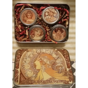 The Orange Moon Tea Society Tin & Tea Gift Sampler