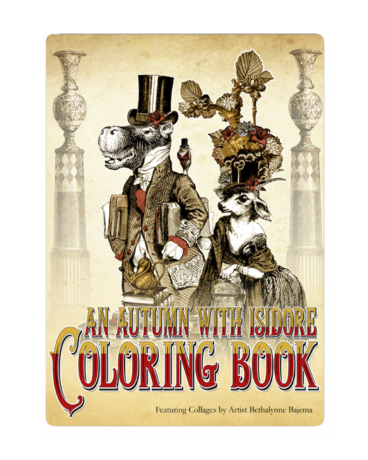 The Attic Shoppe - An Autumn with Isidore Coloring Book