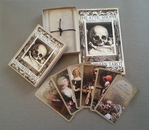 The Attic Shoppe - The Open Edition Halloween Tarot