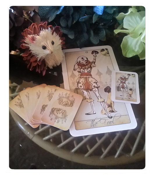 The Isidore Tarot Doll Tarot