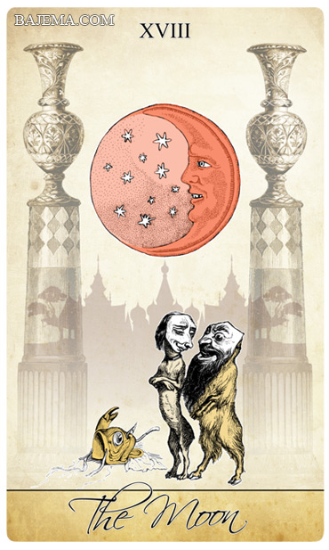 The Isidore Tarot Third Edition The Moon