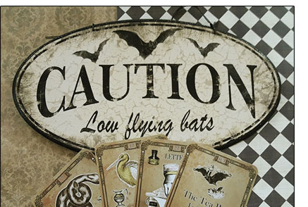 The Tea Bats Lenormand