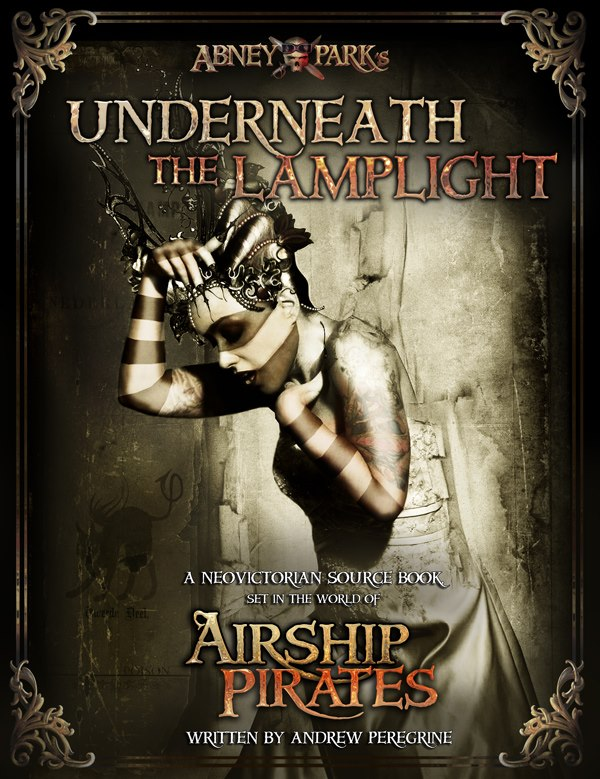 Underneath the Lamplight - RPG - Cover by Bethalynne