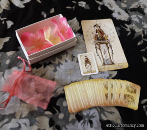 The Isidore Tarot Doll Size Deck - Just the Major Arcana