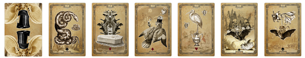 The Tea Bats Lenormand