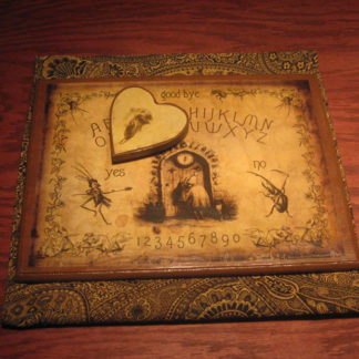 The Attic Shoppe - Halloween Decor - The J.J. Grandville Collage Spirit Board