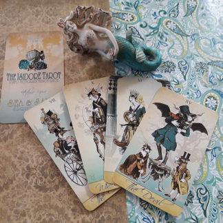 The Sea and Sand Isidore Spring Tarot by Bethalynne Bajema