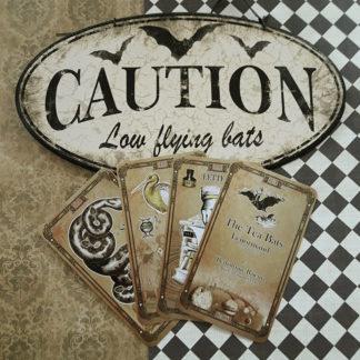 The Tea Bats Lenormand by Bethalynne Bajema