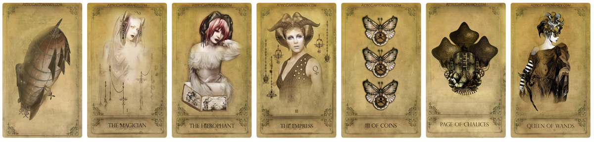 The Sepia Stains Tarot Deck