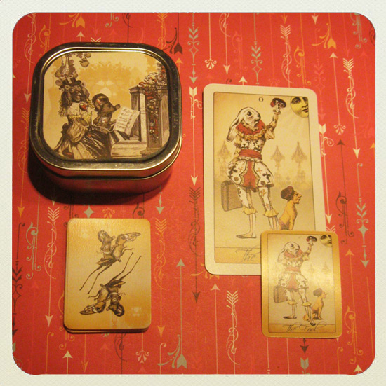 The Isidore Tarot mini edition