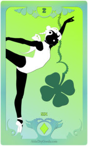 The Butterfly Circus Lenormand Deck - Clover - by Bethalynne Bajema