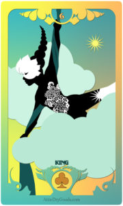 The Butterfly Circus Lenormand Deck - Clouds - by Bethalynne Bajema
