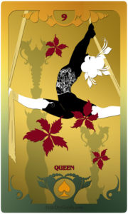 The Butterfly Circus Lenormand Deck - Flowers - by Bethalynne Bajema