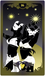 The Butterfly Circus Lenormand Deck - Stars - by Bethalynne Bajema