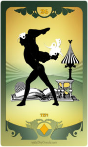 The Butterfly Circus Lenormand Deck - Book - by Bethalynne Bajema
